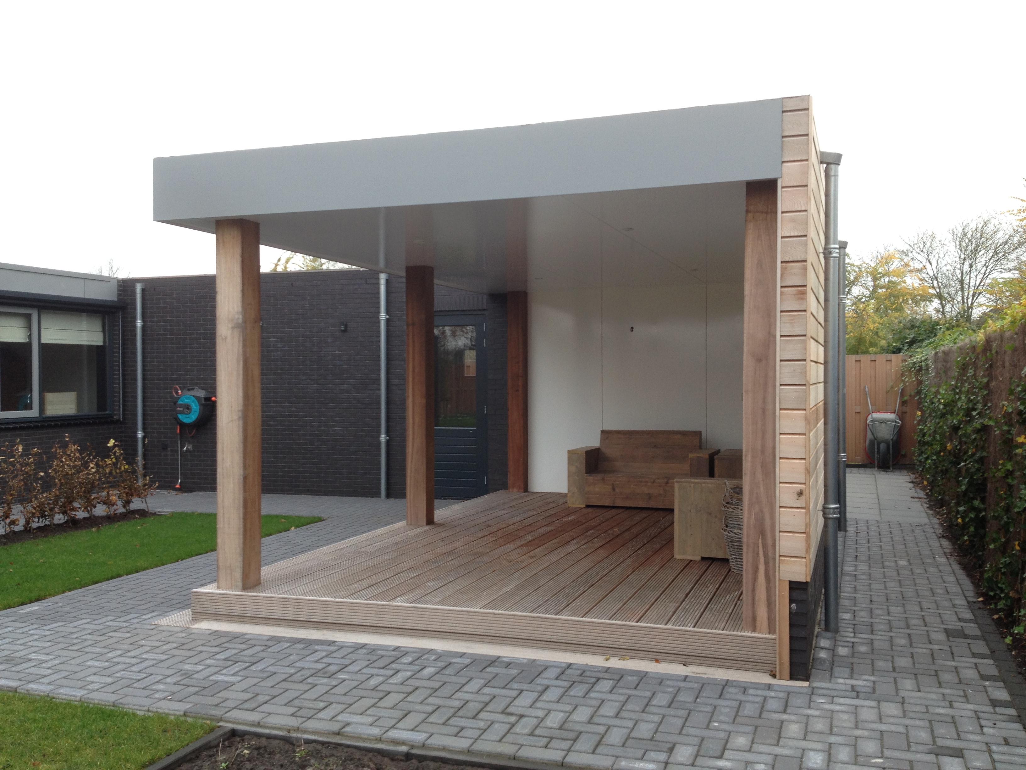 Garage Met Overkapping : 5a hoving bouwontwerp